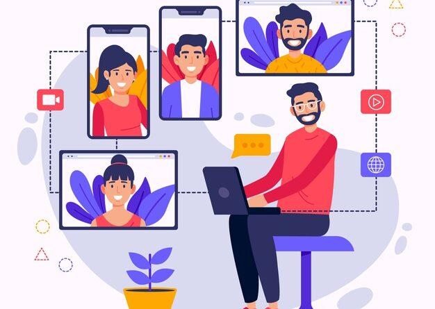 Idea of social meeting on Web